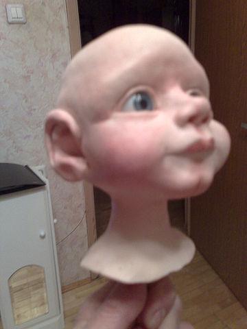 Кукла своими руками мастер класс из пластика - Master class