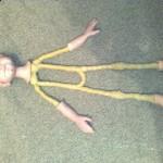 Кукла своими руками из пластика мастер класс