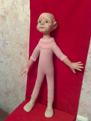 Мастер класс кукла из капрона своими руками