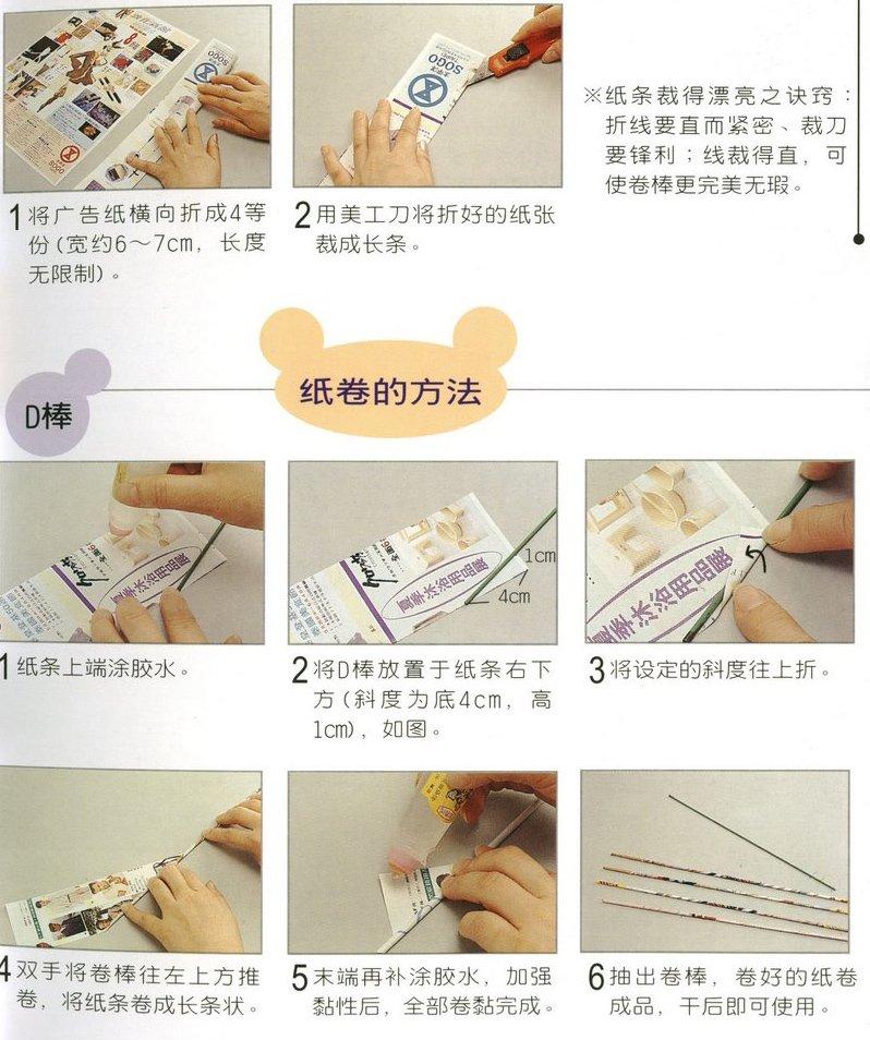 Поделки из скрученных газет для новичков