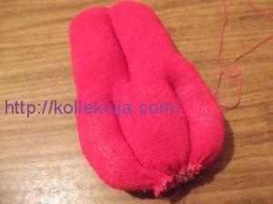 Мягкая игрушка из носков