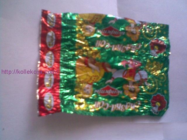 Поделки из конфет и фантиков от конфет