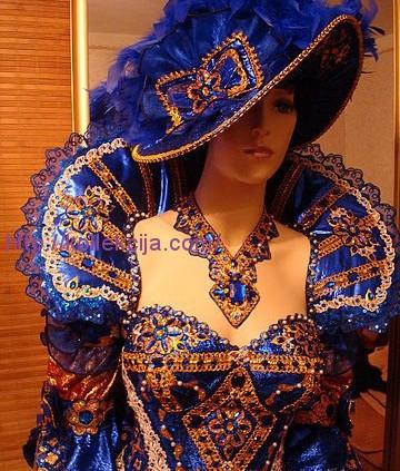 Карнавальный костюм королевы своими руками
