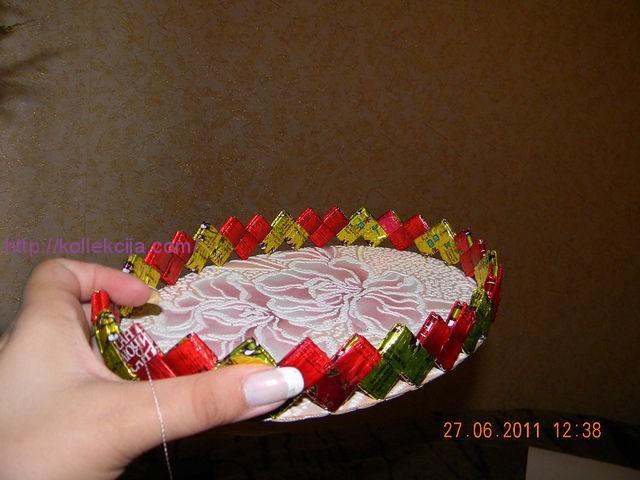 Как из фантиков сделать конфеты