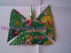 Поделки из конфетных фантиков