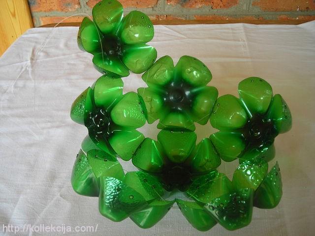 Как сделать шар из пластиковой бутылок