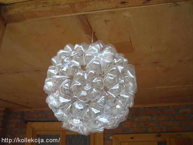 Как сделать шары из пластиковых бутылок своими