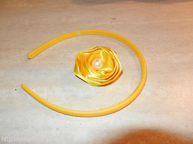 Как сделать цветок из атласной ленты. мастер-классе Любава Суслова...