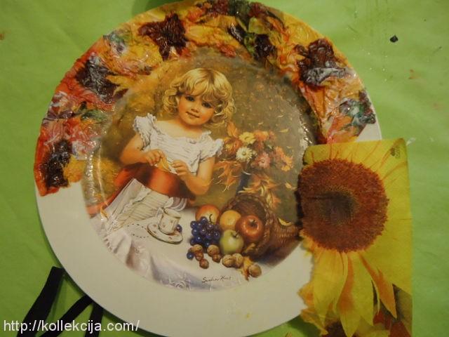 Фотография на тарелке своими руками 7
