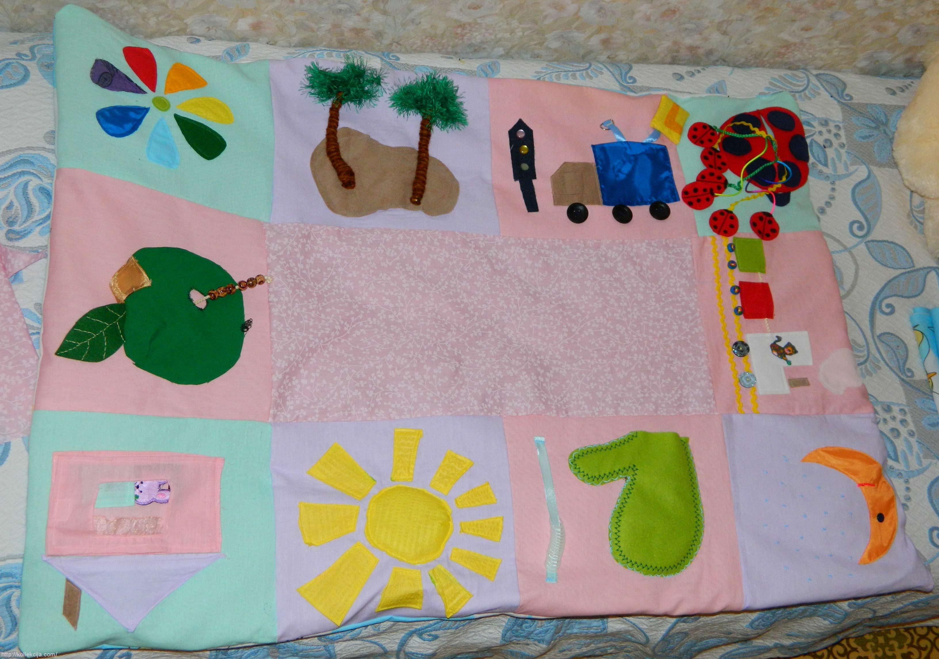 Шьем коврики для детей своими руками