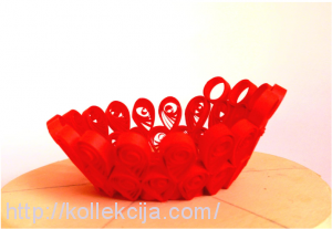Квиллинг - ваза