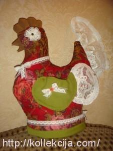 Грелка на чайник Курица