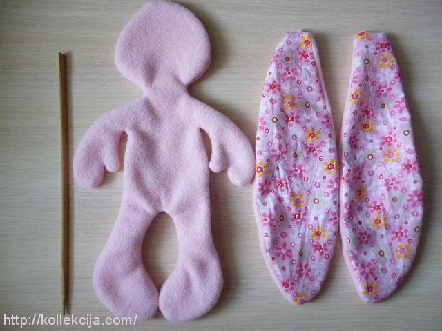 Мягкая игрушка своими руками заяц с длинными ушами