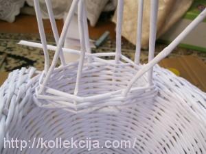 Плетение лебедя из газет