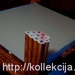 Плетение из бумаги - столик