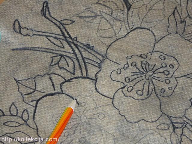 Как перенести рисунок для мозаики