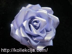 Изготовление роз из атласной ленты