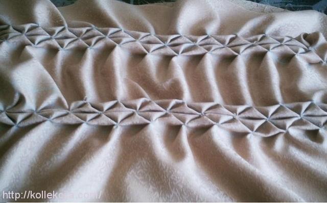 Круглая подушка буфы