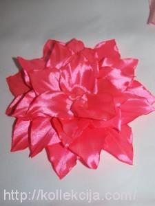 Как сделать лилию из ленты