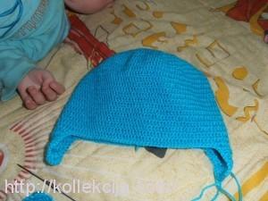 Как связать детскую шапочку крючком