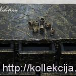 Шкатулка-комод из картона