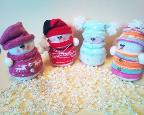 Фото снеговиков своими руками из носков