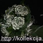 Розы из денежных купюр
