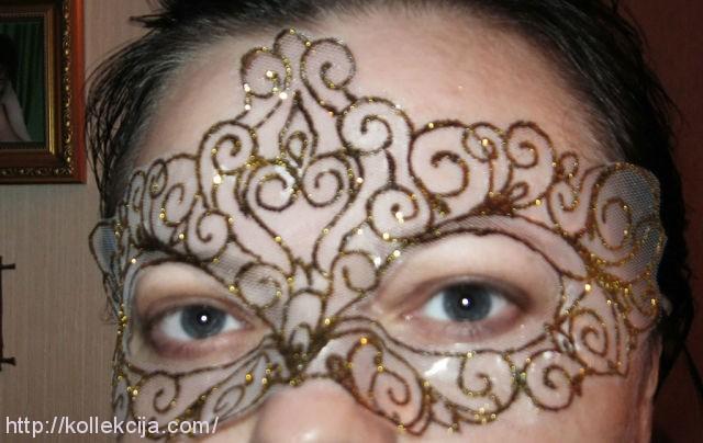 Новогодняя маска своими руками мастер класс - Master class