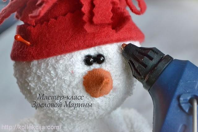 Как сшить снеговика мастер класс