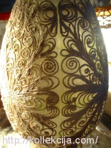 Филигрань из джутового шнура