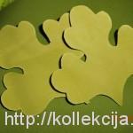 Хризантема из фоамирана