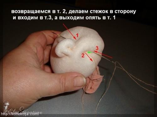 Каркасные куклы из капрона пошаговая инструкция