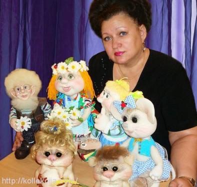 Елена Лаврентьева - автор мастер-класса