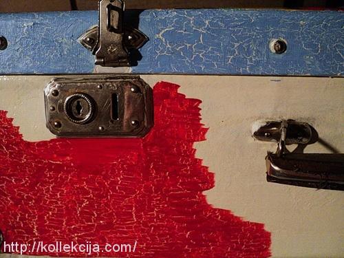 Реставрация старого чемодана