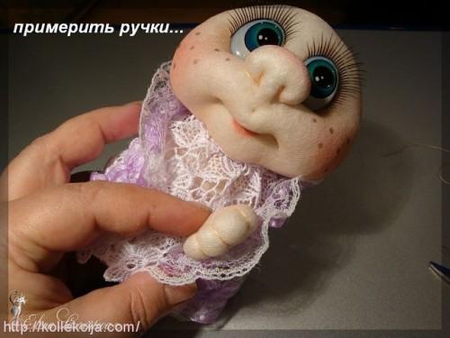 Шьем кукол из колготок