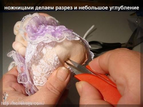 Техника изготовления кукол из колготок