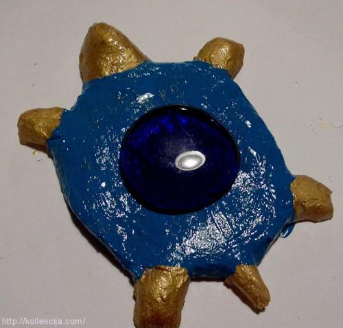 Черепашка из соленого теста
