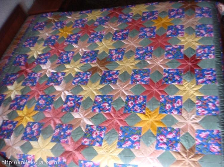 Лоскутное одеяло сшить своими руками