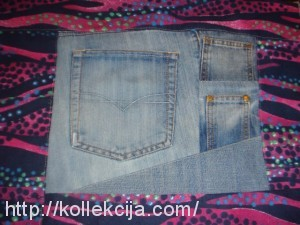 Рюкзак из джинсов своими руками