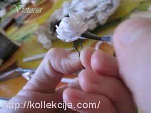 Мини цветы из фоамирана