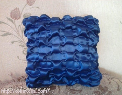 Эта подушка выполнена по схеме
