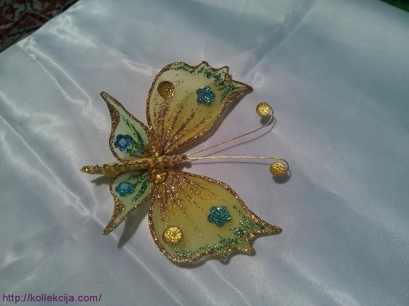 бабочки из капрона... - Самое интересное в блогах