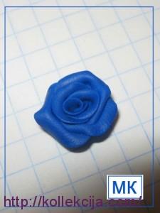 Роза из полимерной глины