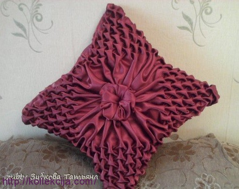 Буфы оригами подушки мастер класс