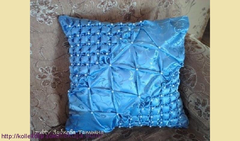 Буфы мастер-класс по квадратным подушками