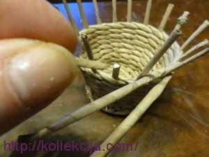 Плетение из газет - чашка с блюдцем