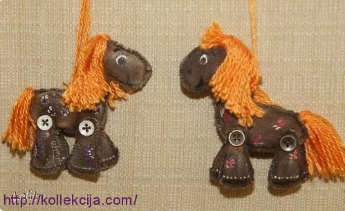 Как сделать игрушку лошадку своими руками - Самодельные