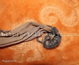 Коврик из капроновых колготок своими руками