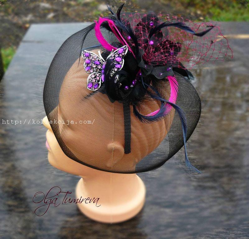 Мини шляпка - как сделать своими руками / Украшение для дома к