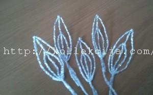 Лилия из фольги